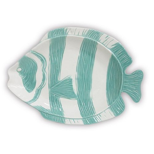 Celebrate Local Life Together Coastal Fish 16-in. Serving Platter
