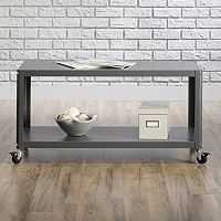 Sauder Square Coffee Table Cart