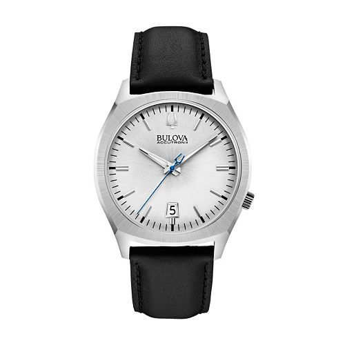 Bulova Men's Accutron II Leather Watch