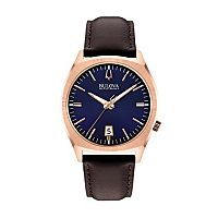 Bulova Men's Accutron II Leather Watch