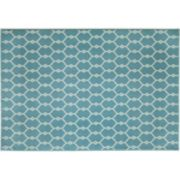 Momeni Baja Geometric Indoor Outdoor Rug