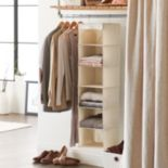 SONOMA Goods for Life? Hanging Linen Sweater Shelf