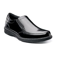 Nunn Bush Madison St. Men's Moc Toe Slip-On Dress Shoes