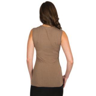 Harve Benard Asymmetrical Crewneck Tunic - Women's