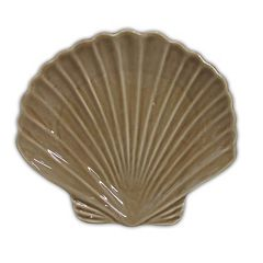 Celebrate Local Life Together Coastal Seashell 7.25-in. Appetizer Plate
