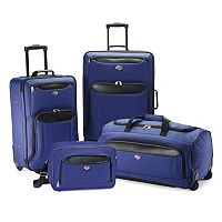 American Tourister Valencia 4-Piece Luggage Set with Boarding Bag