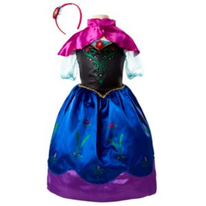 Disney's Frozen Anna Dress & Headband Set