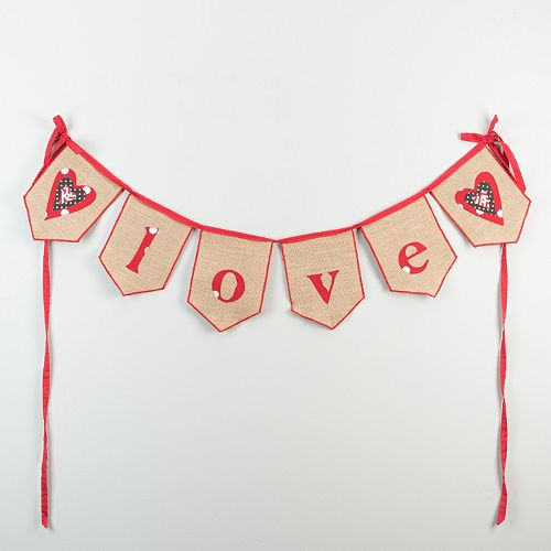 "Glory Haus ""Love"" Banner Wall Decor"