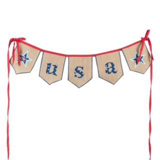 "Glory Haus ""USA"" Banner Wall Decor"