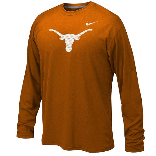 b90d7be54739e Boys 8-20 Nike Texas Longhorns Legend Long-Sleeve Tee