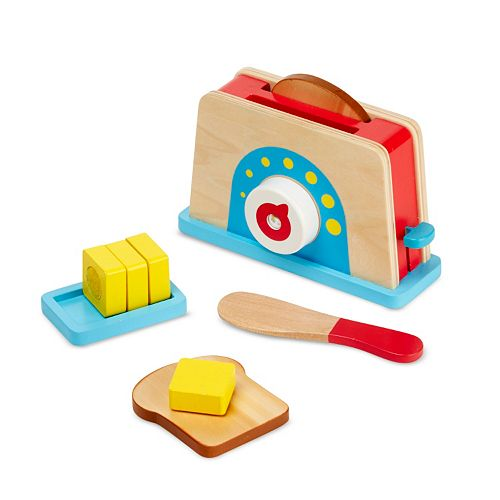 Melissa Doug Bread Butter Toast Set