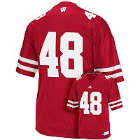 Men's adidas Wisconsin Badgers Replica Football Jersey