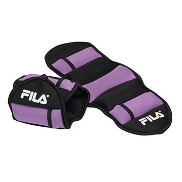 FILA® 2.5-Pound Adjustable Ankle Weights (2 Pack)