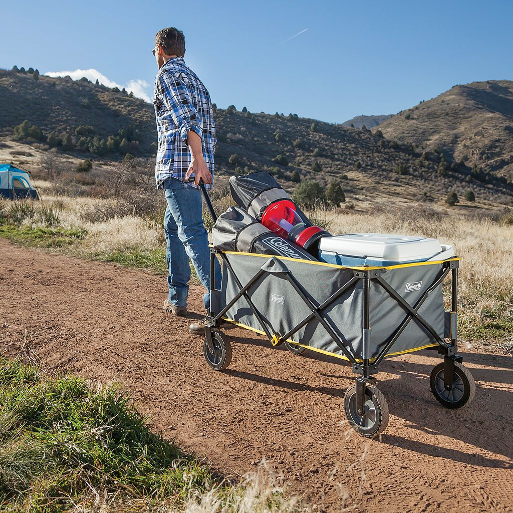 Coleman Folding Outdoor Camp Wagon