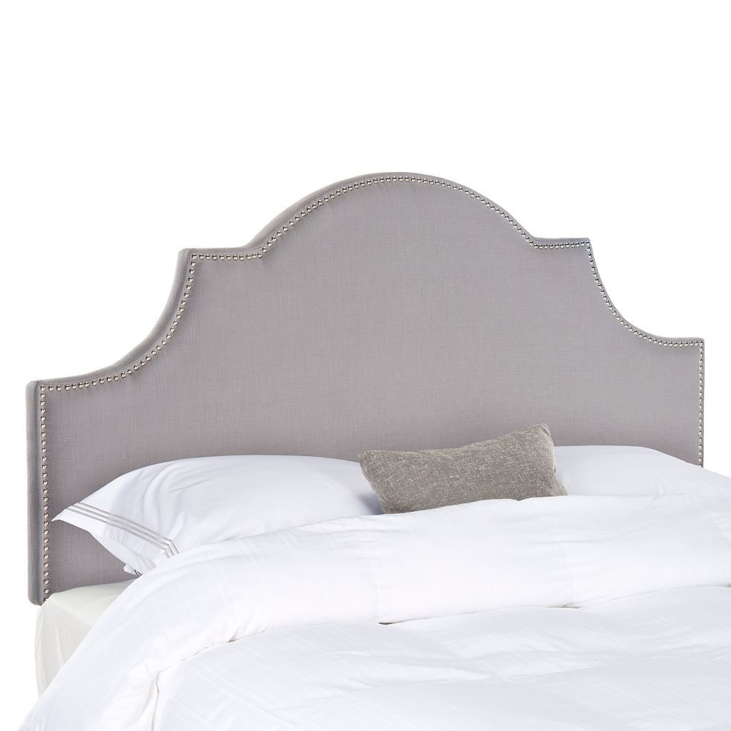 Safavieh Hallmar Arched Scallop Headboard