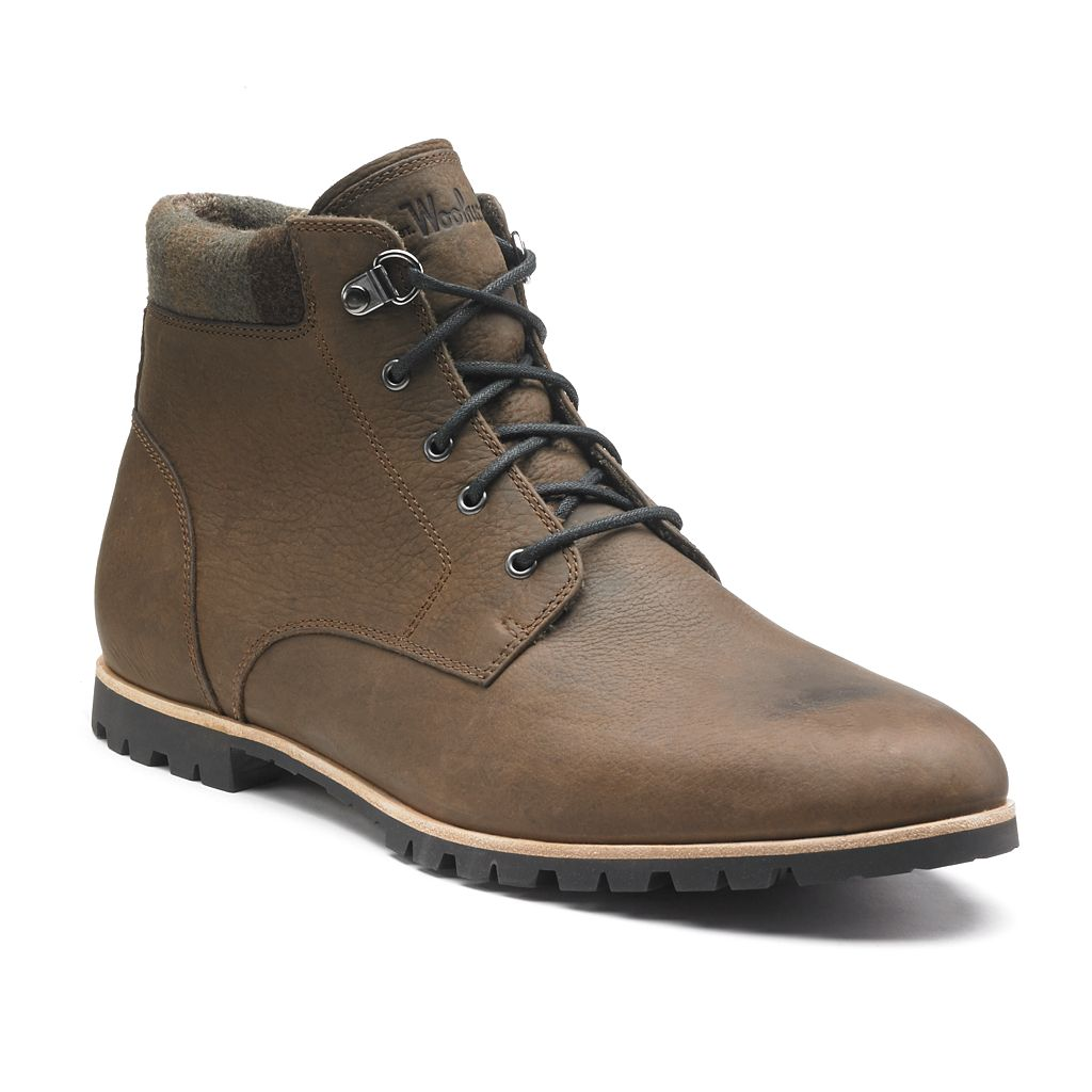 Woolrich Beebe Men's Lace-Up Ankle Boots