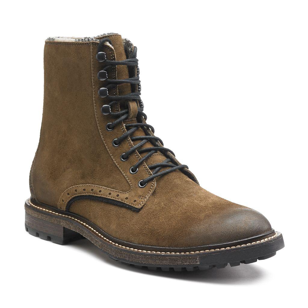 Woolrich Bootlegger Men's Plain Toe Lace-Up Boots