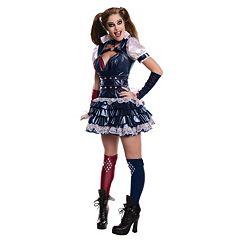 DC Comics Secret Wishes Harley Quinn Costume - Adult