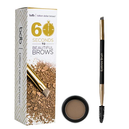 Billion Dollar Brows 60 Seconds To Beautiful Eyebrow Kit