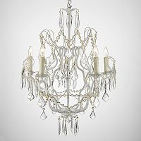 Gallery Wrought Iron 5-Light Swag Chandelier