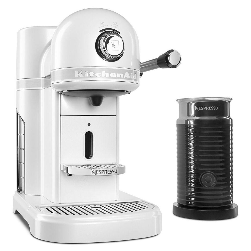 KitchenAid KES0504 Nespresso Machine & Aeroccino + Milk Frother