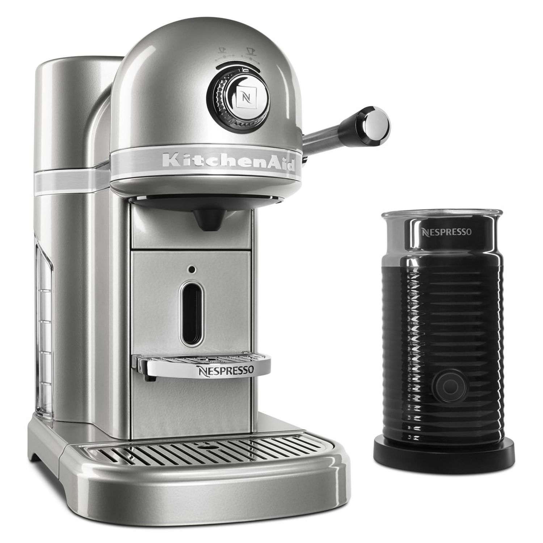kitchenaid kes0504 nespresso machine u0026 aeroccino milk frother