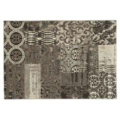Linon Jewel Patchwork Rug