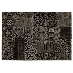 Linon Jewel Patchwork Rug