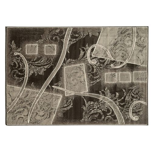 Linon Jewel Abstact Rug