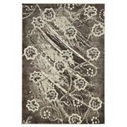 Linon Jewel Floral Rug