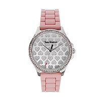 Juicy Couture Women's Gwen Crystal Heart Watch