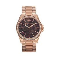 Juicy Couture Women's Emma Crystal Stainless Steel Watch