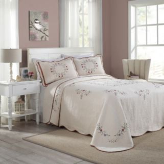 Peking Angela Quilted Bedspread