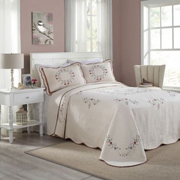 Peking Angela Quilted Bedspread
