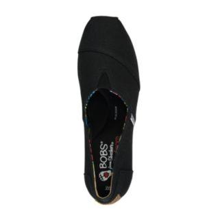 Skechers BOBS High Jinx Women's Espadrille Wedge Slip-On Shoes