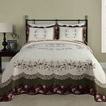 Modern Heirloom Brooke Quilted Bedspread or Sham
