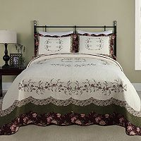 Peking Brooke Quilted Bedspread