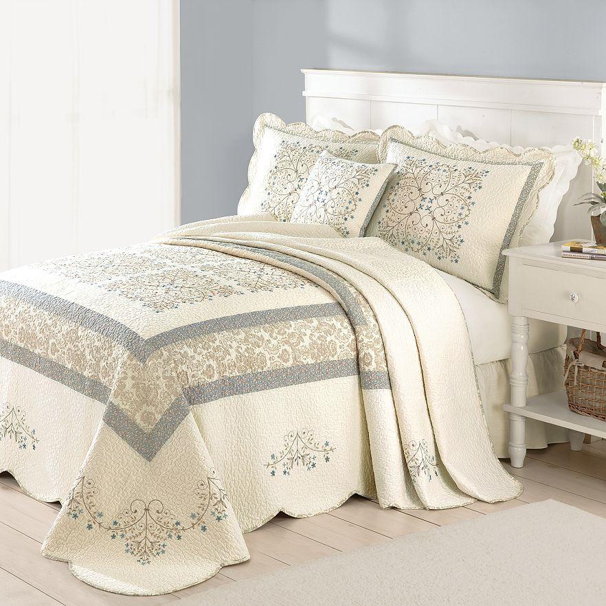 Home Classics  Geneva Bedspread Coordinates. Bedspreads   Bedding  Bed   Bath   Kohl s
