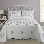 Modern Heirloom Gwen Quilted Bedspread or Sham