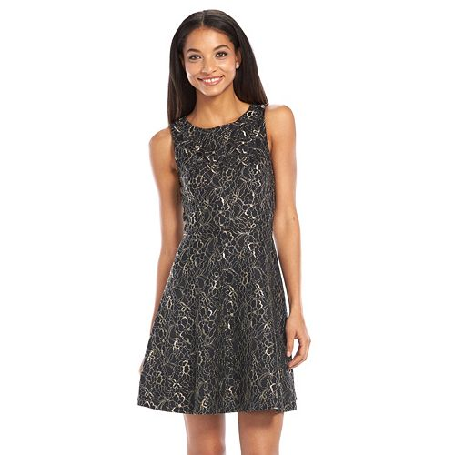 Apt 9 174 Lace Fit Amp Flare Dress