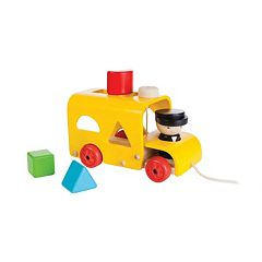 Plan Toys Sorting Bus Toy