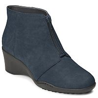A2 by Aerosoles World Tour Women's Wedge Ankle Boots