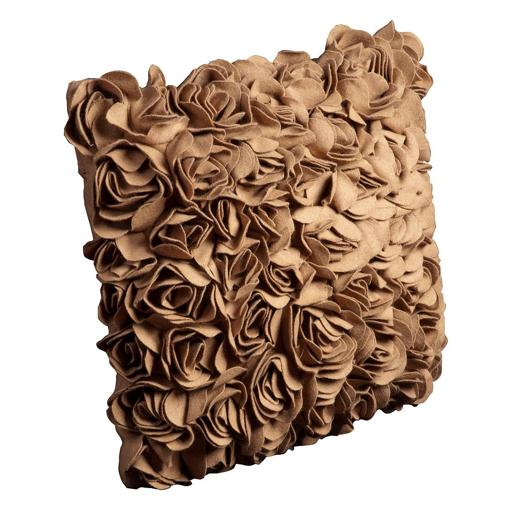 Mina Victory Camel Flower Throw Pillow