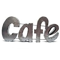 Rustic Arrow ''Cafe'' Wall Decor