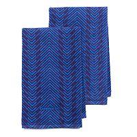 Cuisinart Zig-Zag 2-pc. Kitchen Towel Set