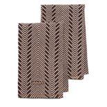 Cuisinart® Zig-Zag 2-pc. Kitchen Towel Set
