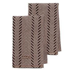 Cuisinart Zig-Zag 2-pc. Kitchen Towel Set