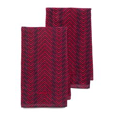 Cuisinart Zig-Zag 2 pc Kitchen Towel Set