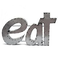 Rustic Arrow ''Eat'' Wall Decor