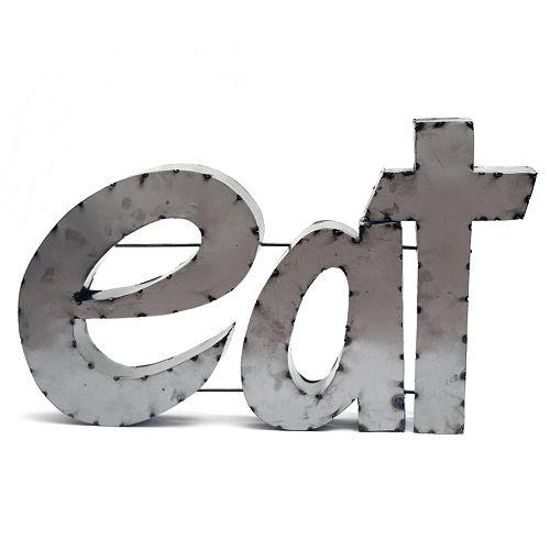 Rustic Arrow ''Eat'' Wall Decor